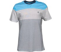 Original Penguin Herren Colour Block Diva T-Shirt Mehrfarbig