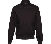 Herren Reactive Classic Harrington Jacke Black