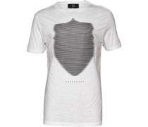 883 Police Herren Wolf T-Shirt Weiß