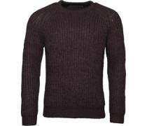 Herren Space Twist wear Pullover mit Rundhalsausschnitt Schwarz
