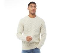 Fisherman Cable Sweatshirt Ecru