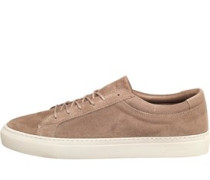 JACK AND JONES Mens Galaxy Suede Shoe Toasted Coconut