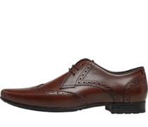 Brogue Schuhe Dunkel
