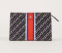 Kosmetiktasche 'Gemini Link Triangle Cosmetic Case' Navy Multi