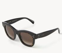 Sonnenbrille 'Honey' Schwarz