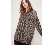 Cashmere-Pullover 'Delia' Taupe Jaguar