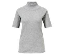 Kurzarm-Pullover Grau