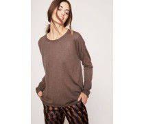 Cahmere-Pullover 'Lori' Taupe