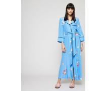 Maxi-Seidenkleid 'Joycedale' mit Blumenprint Marina