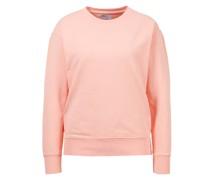 Baumwoll-Sweatshirt Bright Coral