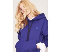 Kapuzen-Sweatshirt 'Ferris Face' Royalblau