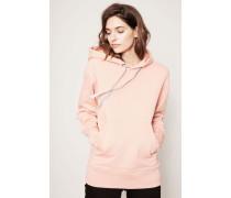 Kapuzen-Sweatshirt 'Ferris Face' Pale Pink
