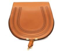 Umhängetasche 'Marcie Saddle Large' Tan