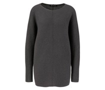 Cashmere-Pullover 'Edita' Dunkelgrau
