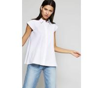 Ärmellose Bluse Weiß
