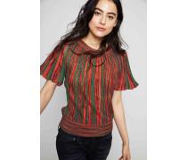 Pullover mit Streifen-Muster Multi