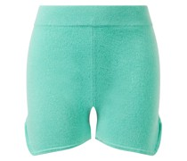 Baby-Cashmere-Shorts Green Spruce