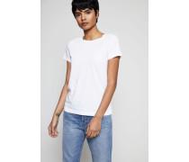 Klassisches T-Shirt Weiß