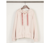 Sweat-Jacke 'Penda' Nude