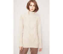 Grobstrick-Cashmere-Pullover 'Susan' Natur