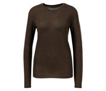 Cashmere-Pullover 'Ivastone' Dunkelbraun