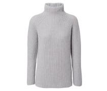 Rollkragen-Pullover 'Annie' Grau