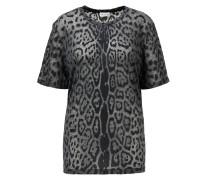 T- Shirt mit Leoprint