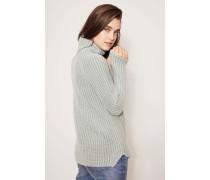 Rollkragen-Pullover 'Annie' Jade