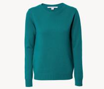 Woll-Pullover 'Chelsa' Grün