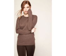 Cahmerepullover 'Riverstone' Taupe