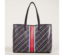 Shopper 'Gemini Link Tote' Navy Multi