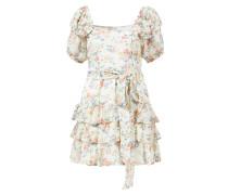 Minikleid 'Kimbra' mit floralem Muster /Multi