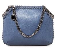 Umhängetasche 'Mini Shoulder Bag Shine' Feather Blue