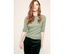Cahmere-Seiden-Shirt 'Mira' Moosgrün