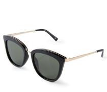 Sonnenbrille 'Caliente' Schwarz/Gold