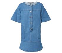 Jeanskleid mit Knopfleiste Blau