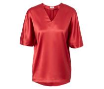 Seiden-Shirt Rot