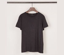 T-Shirt Washed Schwarz