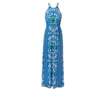 Maxikleid 'Selena Maxi Dress' mit floralem Print Weiß/Multi