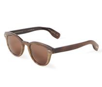 Sonnenbrille 'Cary Grant Sun Horn' Dunkelbraun