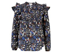 Seiden-Bluse mit floralem Print 'Jaya' Multi