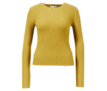 Woll-Cashmere-Pullover Olive