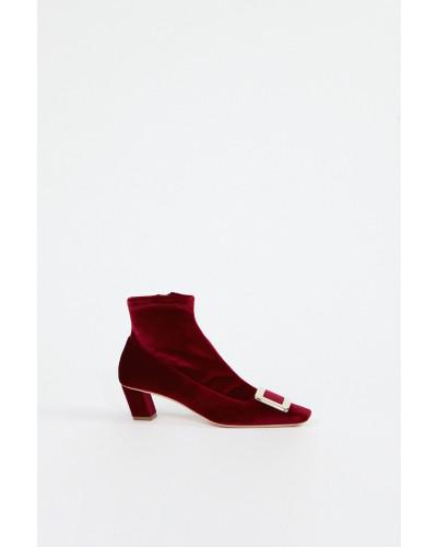 Ankle Boots 'Belle Vivier' Bordeaux