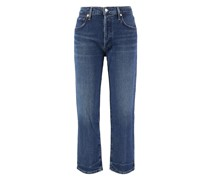 Relaxed Straight Jeans 'Emery Crop'