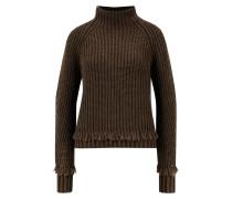 Cashmere-Pullover 'Gebina' mit Fransendetail