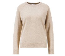 Organic Baby Cashmere R-Neck Oatmeal Organic