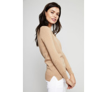 Cashmere-Pullover 'Bella' Beige