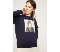 Sweatshirt 'George' Blau