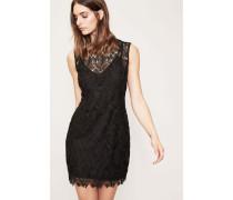 Mini-Kleid 'Tailored Overlay Dress' Schwarz
