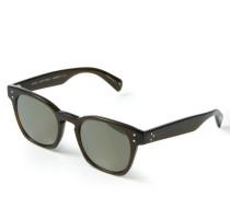 Verspiegelte Sonnenbrille 'Byredo' Braun